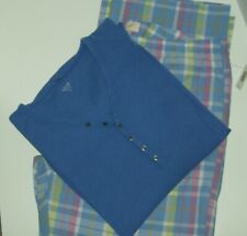 NWT*Love by GAP  2 Piece Pajamas**T-Shirt & Plaid Poplin Sleep Pants**Sz: L