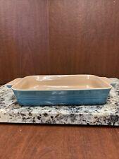 Le Creuset Stoneware 10 x 7 Light Blue Rectangular Baking Casserole Dish