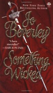 Something Wicked by Jo Beverley Book The Cheap Fast Free Post