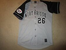 Cal State Northridge CSUN #26 Baseball Game Worn Used Jersey LG L