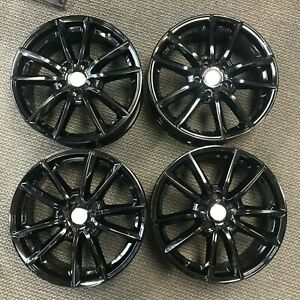 "19"" LAND ROVER RANGE ROVER Powder Coated Gloss Black 2013-2019 OEM Wheels 72269B"