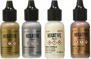 Tim Holtz Ranger Alcohol Ink Mixatives Various Colours for Paper / Resin Crafts