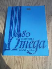 1980 Oldsmobile Omega Car Factory Service Manual