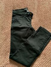 Womens Zara Black Skinny Jeans BNWOT Size 10. Not faded at all!