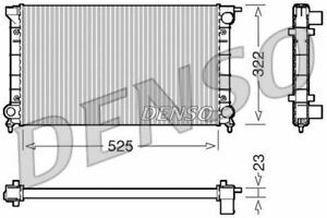 DENSO ENGINE COOLING RADIATOR FOR ANNO AUDI 80 BERLINA 1.3 40KW
