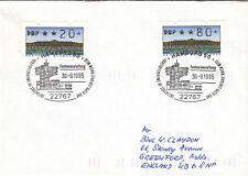 (07657) Germany Cover FRAMA Trains Hamburg 30 September 1995