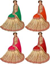 Indian Wedding Silk and Satin Latest Bollywood Heavy Embroidery Designer Sarees