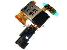 For Sony Xperia ion LTE LT28at LT28i Sim Card Slot Socket Tray Holder Flex Cable