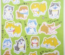 Japanese Shiba Inu stickers! Kawaii dog stickers, dog butts, emoji, cute planner