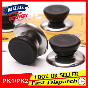 Universal Knob Replacement Cover Wok Stainless Steel Pan Pot Handle Glass Lid