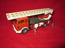 Fire Engine w/ Ladder Mercedes Atego 1:50 SIKU 2819 Diecast Model Truck LOOSE