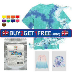 25g Cold Water Tie-dye Powder For Fashionable DIY Fabric Textile Coating Vibra
