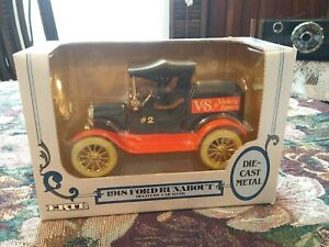 Vtg 1990 Ertl V&S Variety Store 1918 Ford Runabout Delivery Car Bank Die-cast