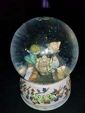 "Berta Hummel Water Globe (1996) ""Special Delivery' With Music Box Brahms Lullaby"