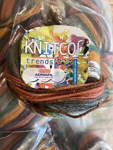 Adriafil Knitcol Trends 10 X 50g Balls 068 100% Pure Merino