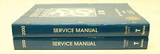 OEM 2000 GM Chevrolet Medium Duty Truck T-Series Service Manuals - 2 Volumes