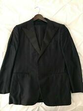 NWT CORNELIANI Black Wool-Silk Peak Lapel Tuxedo 40 R 50 R Tom Ford style