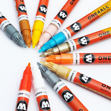 Molotow ONE4ALL 127HS-CO 1.5MM Single Acrylic Paint Markers graffiti supplies