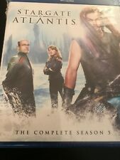 STARGATE ATLANTIS COMPLETE FIFTH SEASON (Blu-ray) Jason Momoa NEW