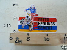 STICKER,DECAL YAMAHA PETER HERLINGS GEMERT NO 2 MX CROSS MOTORCROSS