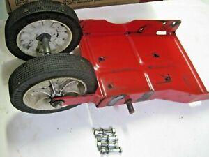 MTD EDGER 252-586-000 Edger Wheel Base Axle Assembly Part 781-0083