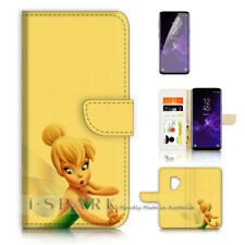 ( For Samsung S9 ) Wallet Case Cover P40299 TinkerBell
