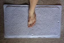 Hydro Shower Stall/Bath Rug: White; New