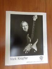 Vtg Glossy Press Photo Musician Mark Knopfler Sailing To Philadelphia Tracker