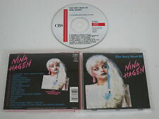 NINA HAGEN/THE MUY BEST OF NINA HAGEN(CBS 467339 2) CD ÁLBUM