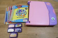 Leap Frog LeapPad Learning System With 5 Complete Books + Cartridges - Tested