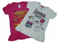 Girls Next Pink White Top T shirt AGE 4yrs 5yrs, 6yrs, 7yrs