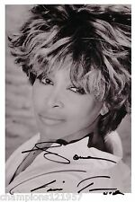 Tina Turner  ++Autogramm++ ++POP Legende++