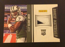 2013 National Materials GLOVE GENO SMITH 2 Color SP RC Jets/WVU Panini Wrapper