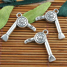 Alloy metal Tibetan Silver color 2sided  style charms 13pcs EF0102