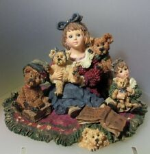 """BOYDS YESTERDAY'S CHILD """"KELLY AND COMPANY...THE BEAR COLLECTOR""""1999 LTD ED 3542"""