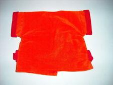 Original Teddy Ruxpin Orange Jacket with red trim