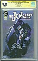 Joker 80th Anniversary Super Spectacular 1 CGC 9.8 SS 1990's Dell'Otto Cover Sig