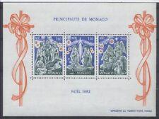 MONACO bloc 23 - NOEL de 1982 ** NEUF LUXE