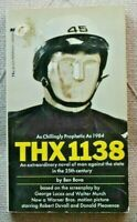George Lucas THX 1138 Movie Tie-In First Edition Paperback by Ben Bova