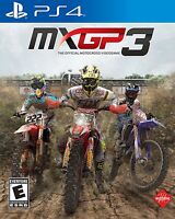 MXGP 3: The Official Motocross Videogame (Sony PlayStation 4, 2017) BRAND NEW