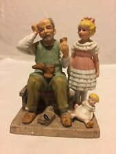 """Norman Rockwell Collector's Club Porcelain Figurine """"The Shoemaker"""" 1981"""