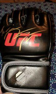 Dustin Poirier Autograph Glove