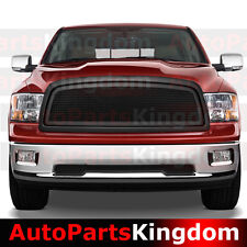 09-12 Dodge Ram 1500 Matte Black Packaged Front Mesh Grille+Shell Replacement