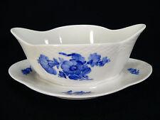 Royal Copenhagen blaue Blume Glatt ovale Sauciere  / 8159