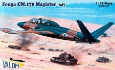 AEROSPATIALE/POTEZ FOUGA CM 170 MAGISTER (IDF/ISRAELI AF MARKINGS) 1/72 VALOM