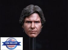 1/6 Scale Custom Han Solo Harrison Ford Head Sculpt For Hot Toys Phicen ❶USA❶