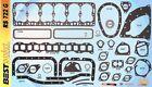 Hudson Hornet 308 Big Six Full Engine Gasket Set/Kit BEST Head+Manifold 1951-54  for sale