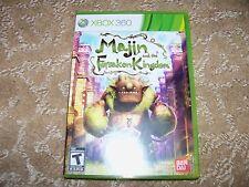Majin and the Forsaken Kingdom  (Xbox 360, 2010) EUC