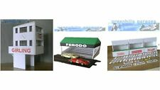 Greenhills Scalextric Slot Car Buildings Goodwood Starter Pack Kit 1:32 Scale...