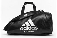 Boxing Holdall Bag Backpack Gym Adidas PU 2 in 1 Black